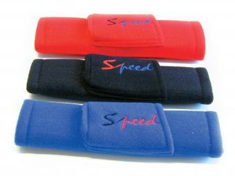 Biztonsági öv párna Speed telefontartóval kék színben 6852 (PÁR)