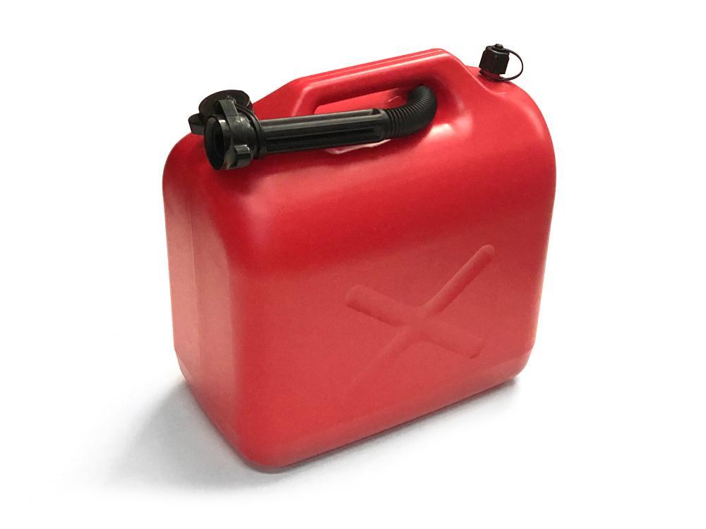 Üzemanyag kanna műanyag 20 literes piros