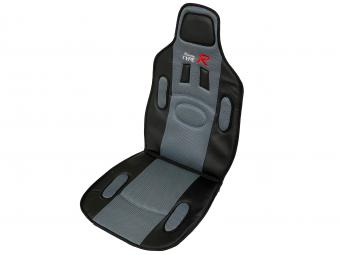Ülésvédő Racing Type-R szürke színben