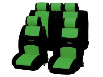 Univerzális üléshuzat GT Sport 5 személyes zöld színben