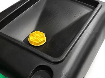 Üzemanyag kanna műanyag 7 literes fekete-zöld