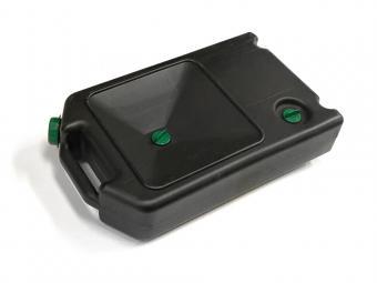 Üzemanyag kanna műanyag 10 literes fekete-zöld